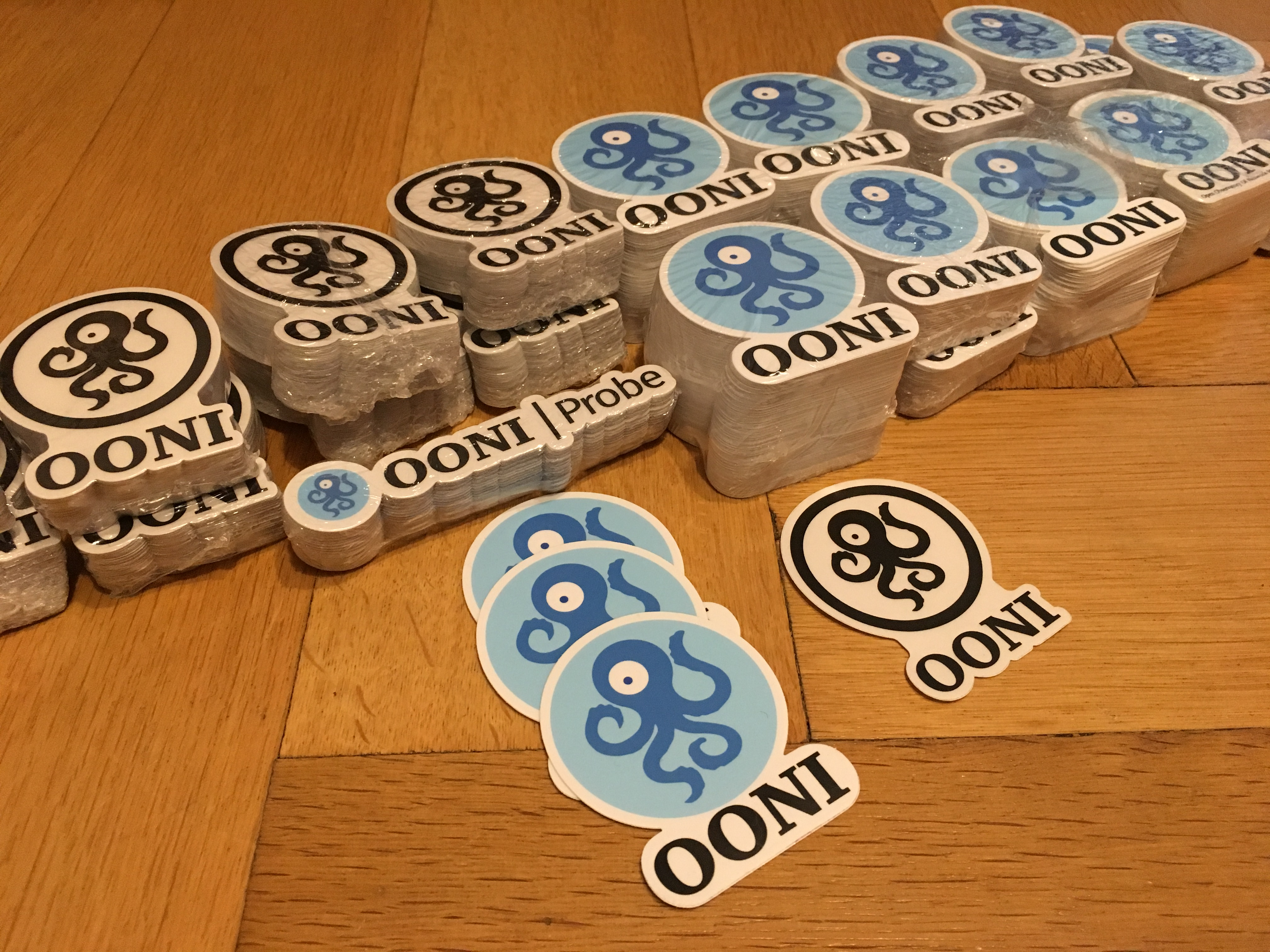 OONI Stickers