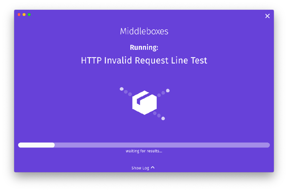 Testing for middleboxes